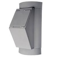 Клапан загрузочный мусоропровода КМ-400М - стандартный